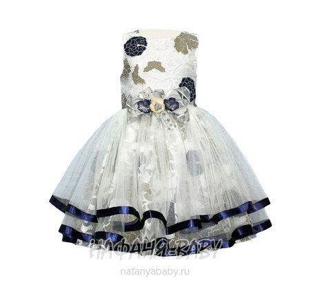 Детское нарядное платье Miss BONNY арт: 0085, 1-4 года, оптом Турция