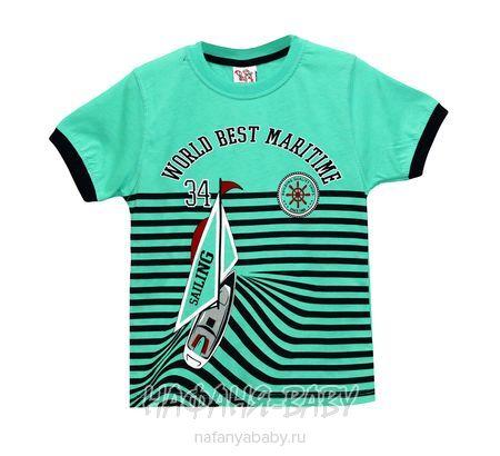 Детская футболка USLU BEBE арт: 2112, 1-4 года, 5-9 лет, цвет бордовый, оптом Турция