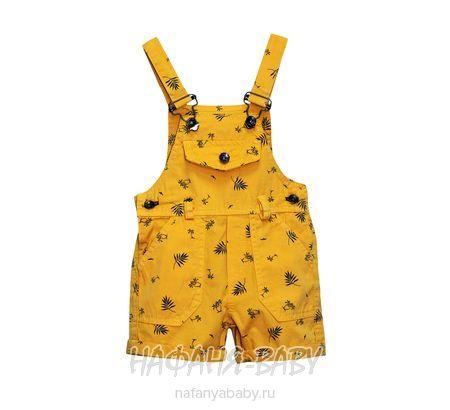 Детские полукомбинезон-шорты ORYEDA арт: 1053, 0-12 мес, 1-4 года, оптом Турция