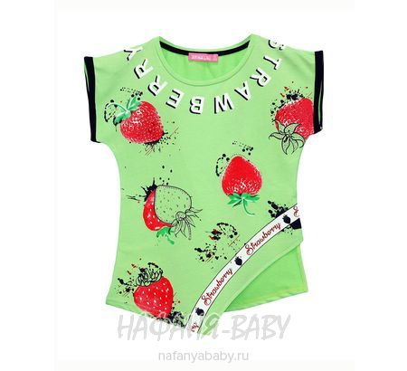 Детская футболка, артикул 6399 BERMINI арт: 6399, 10-15 лет, цвет серый меланж, оптом Турция