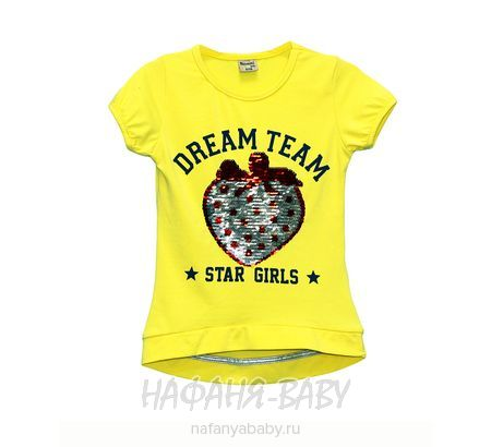 Детская футболка, артикул 5583 NARMINI арт: 5583, цвет кремовый, оптом Турция