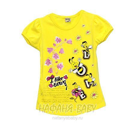 Детская футболка NARMINI арт: 5586, 1-4 года, 5-9 лет, цвет желтый, оптом Турция