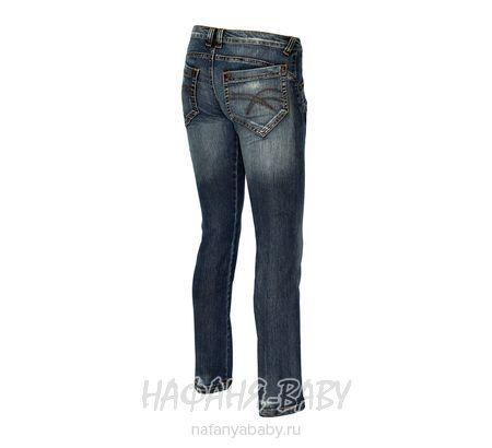 Джинсы подростковые для девочки Dolce  Ribelle арт: 1102, штучно, 10-15 лет, цвет темно-синий, размер 158, оптом Турция