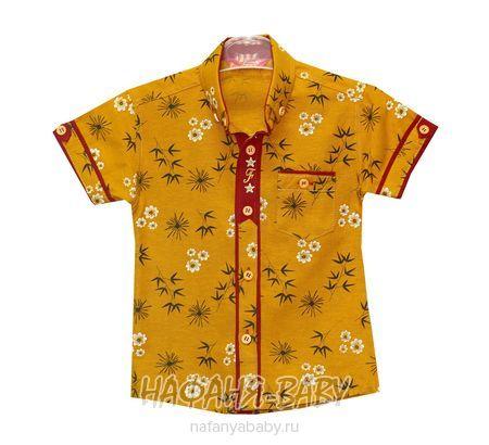 Детская рубашка FABISA арт: 116, 1-4 года, цвет горчичный, оптом Турция