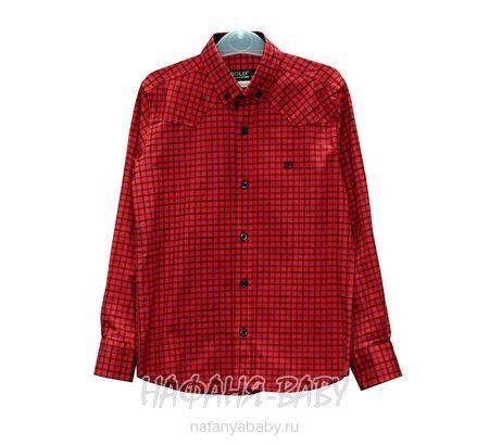 Детская рубашка BOLD арт: 14154, штучно, 10-15 лет, цвет красный, размер 158, оптом Турция