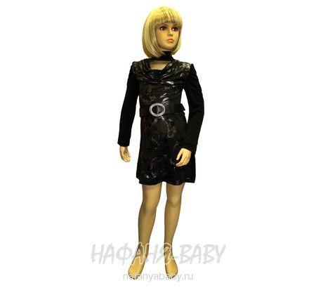 Детское платье BENINI арт: 5240, штучно, 10-15 лет, молодежный, цвет черный, размер 176, оптом Турция