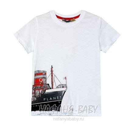 Детская футболка F.K. арт: 1520, 1-4 года, цвет белый, оптом Турция