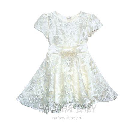 Детское платье KGMART арт: 2018, штучно, 1-4 года, 5-9 лет, цвет белый, размер 104, оптом