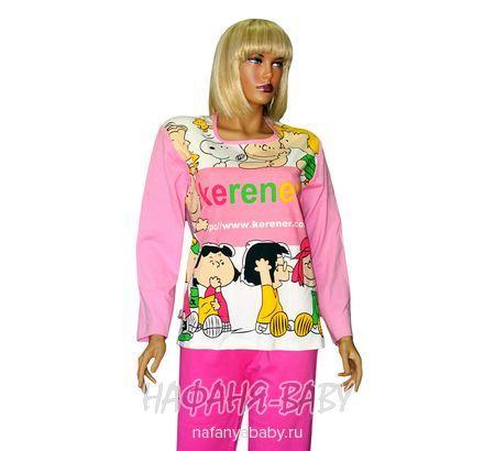 Комплект домашней одежды KERENER арт: 2114, штучно, молодежный, цвет розовый, размер 176, оптом Китай (Пекин)