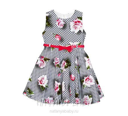 Детское платье GAMZELIM арт: 1102, 5-9 лет, оптом Турция