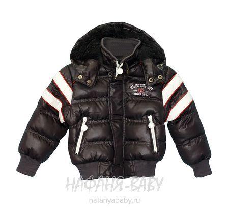 Детская куртка BSL арт: 12002, штучно, 1-4 года, цвет черный, размер 86, оптом Китай (Пекин)
