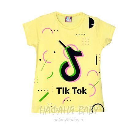 Детская футболка BASAK арт: 2662, 5-9 лет, цвет желтый, оптом Турция