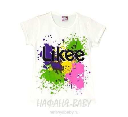 Детская футболка BASAK арт: 2664, 5-9 лет, цвет кремовый, оптом Турция