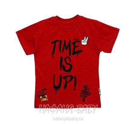 Детская футболка UNRULY арт: 2932, 5-9 лет, цвет красный, оптом Турция