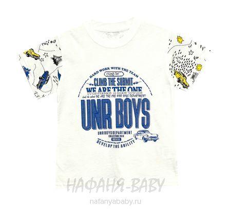 Детская футболка UNRULY арт: 2936, 1-4 года, 5-9 лет, цвет кремовый, оптом Турция