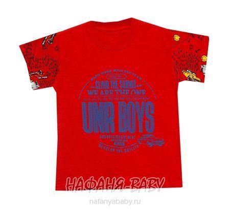 Детская футболка UNRULY арт: 2936, 1-4 года, 5-9 лет, цвет красный, оптом Турция
