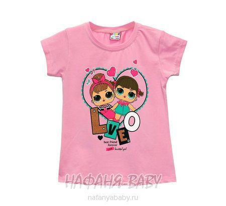 Детская футболка BASAK арт: 3343, 1-4 года, оптом Турция