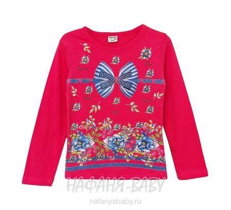 Детский лонгслив NARMINI арт: 4489, 5-9 лет, 1-4 года, цвет малиновый, оптом Турция