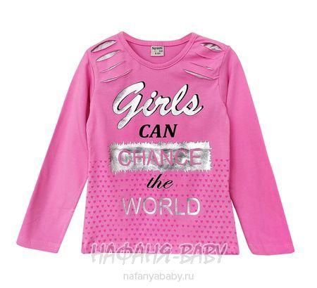 Детский лонгслив NARMINI арт: 4805, 5-9 лет, 1-4 года, цвет розовый, оптом Турция