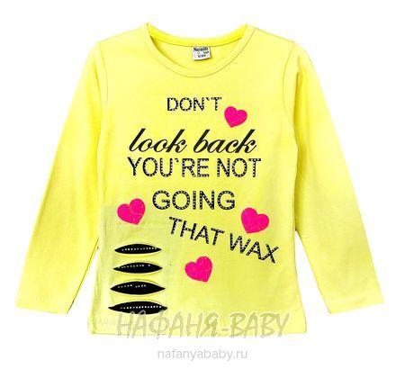 Лонгслив для девочки NARMINI арт: 4806, 1-4 года, 5-9 лет, цвет желтый, оптом Турция