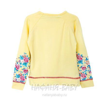 Детский свитшот NARMINI арт: 4813, 5-9 лет, 1-4 года, цвет желтый, оптом Турция