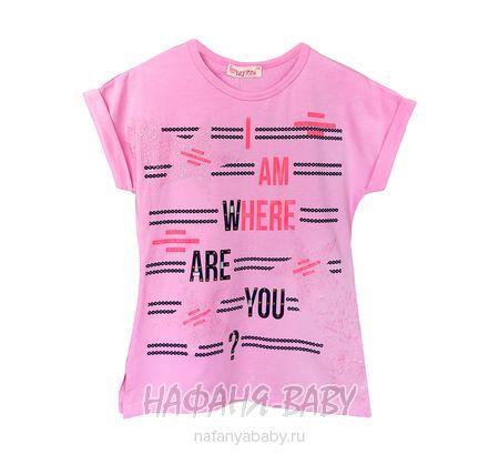 Детская футболка LILY Kids арт: 5029, 10-15 лет, 5-9 лет, цвет серый меланж, оптом Турция