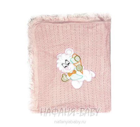 Плед для малышей YESDA арт: 5056, штучно, 0-12 мес, цвет розовый, оптом Турция