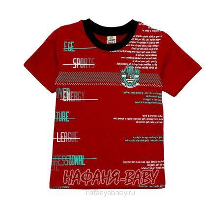 Детская футболка SAHIN арт: 519, 5-9 лет, цвет бордовый, оптом Турция