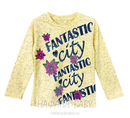 Детский лонгслив UNRULY арт: 5230, 5-9 лет, 1-4 года, цвет желтый меланж, оптом Турция