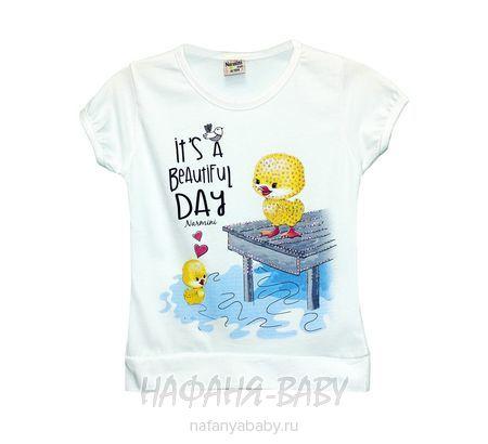 Детская футболка NARMINI арт: 5535, 1-4 года, цвет белый, оптом Турция