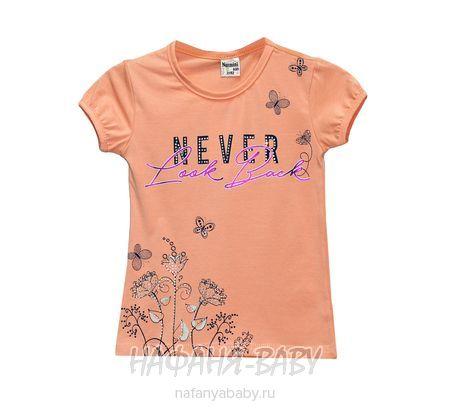 Детская футболка NARMINI арт: 5549, 1-4 года, 5-9 лет, цвет персиковый, оптом Турция