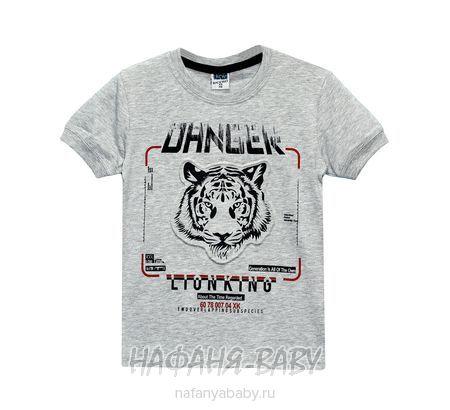 Подростковая футболка RCW арт: 6579, 10-15 лет, цвет серый меланж, оптом Турция