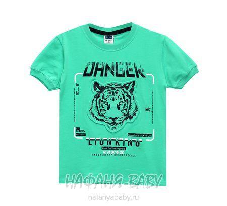 Подростковая футболка RCW арт: 6579, 10-15 лет, цвет бирюзовый, оптом Турция