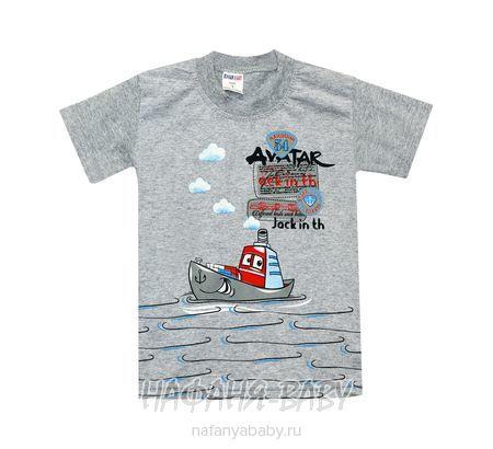 Детская футболка HASAN Bebe арт: 6213, 1-4 года, цвет серый меланж, оптом Турция