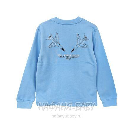Детская толстовка UNRULY арт: 6355, 10-15 лет, 5-9 лет, цвет голубой, оптом Турция