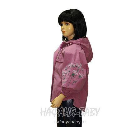 Детская ветровка LOVRIL арт: 656, 5-9 лет, 10-15 лет, цвет сиреневый, оптом Китай (Пекин)