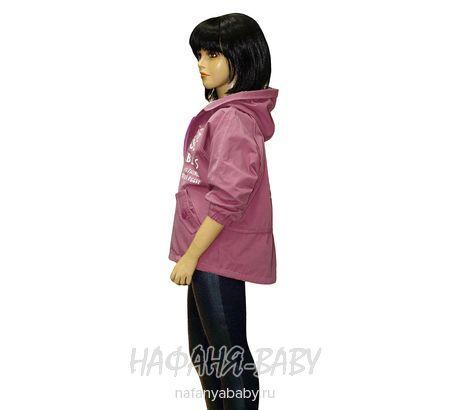 Подростковая модная  ветровка LOVRIL арт: 658, 10-15 лет, цвет сиреневый, оптом Китай (Пекин)