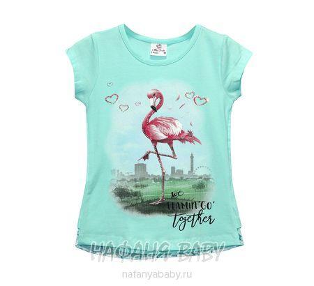 Детская футболка Miss Feriha арт: 705, 5-9 лет, 1-4 года, цвет аквамариновый, оптом Турция