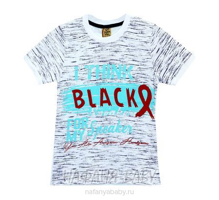 Детская футболка SAHIN арт: 707, 5-9 лет, 10-15 лет, цвет белый, оптом Турция