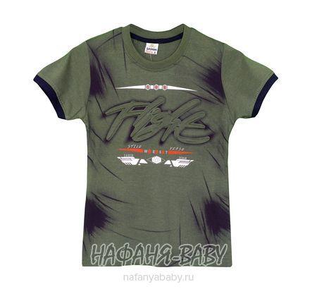 Детская футболка SAHIN арт: 807, 10-15 лет, 5-9 лет, цвет темный хаки, оптом Турция
