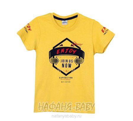 Детская футболка SAHIN арт: 731, 5-9 лет, цвет горчичный, оптом Турция