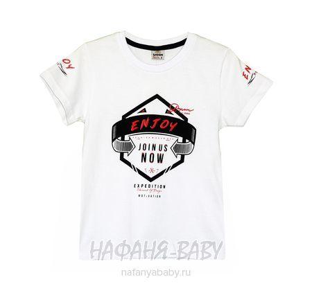 Детская футболка SAHIN арт: 731, 5-9 лет, цвет белый, оптом Турция