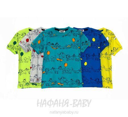 Детская футболка FAGIS арт: 6712, 1-4 года, 5-9 лет, оптом Турция