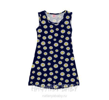 Детское платье STEPHANIE арт: 9030, штучно, 5-9 лет, цвет №1 кремовый в красный горох, размер 128, оптом Турция
