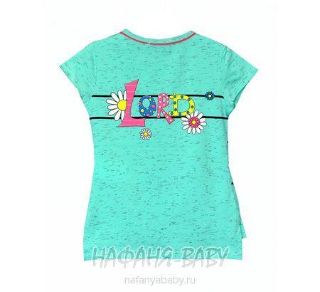 Детская футболка, артикул 3532 LILY Kids арт: 3532, 1-4 года, 5-9 лет, цвет малиновый меланж, оптом Турция