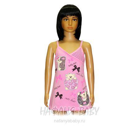 Детская трикотажная туника NARMINI арт: 955, штучно, 1-4 года, цвет розовый, размер 86, оптом Турция