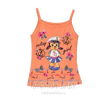 Детский трикотажный топ NARMINI арт: 4201, штучно, 1-4 года, цвет персиковый, размер 92-98, оптом Турция