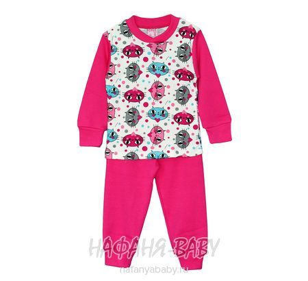 Детская пижама для девочки Cit Cit арт: 2203, штучно, 1-4 года, оптом Турция