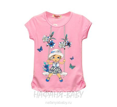 Детская футболка WHOOPS арт: 4103, 1-4 года, 5-9 лет, оптом Турция