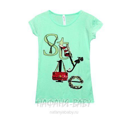 Детская футболка KARTEKS арт: 1966, штучно, 10-15 лет, молодежный, цвет черный, размер 152, оптом Турция